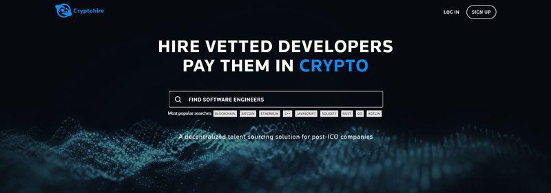 Blockchain Developer-Hiring Sites
