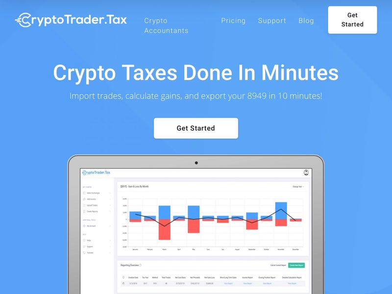 free cryptocurrency tax import software