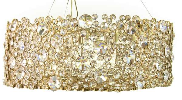 Jewel-Encrusted Lighting