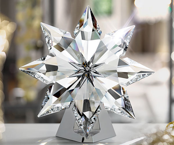 swarovski christmas tree toppers - Crystal Christmas Tree