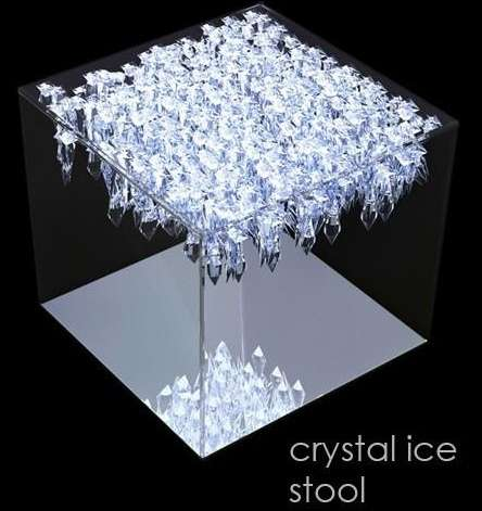 Delicieux Crystallized Furniture
