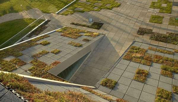 Grid-Like Green Roofs