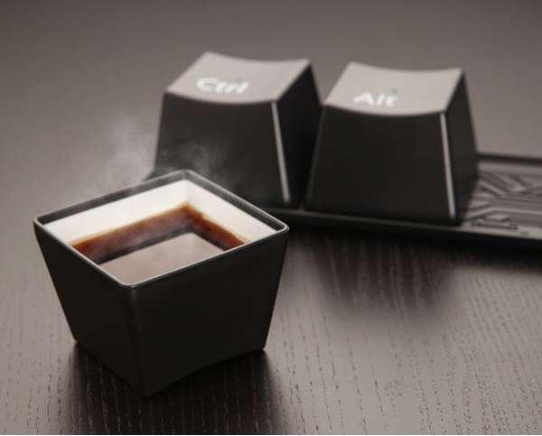 Geeky Keyboard Mugs