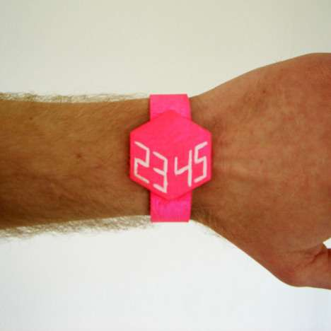 3D Geometric Watches
