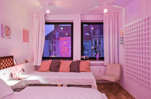 Squarish Hotel Accommodations
