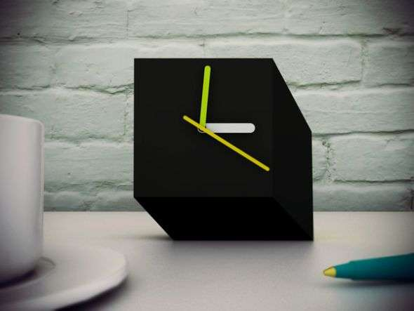 Cubist Desk Clocks