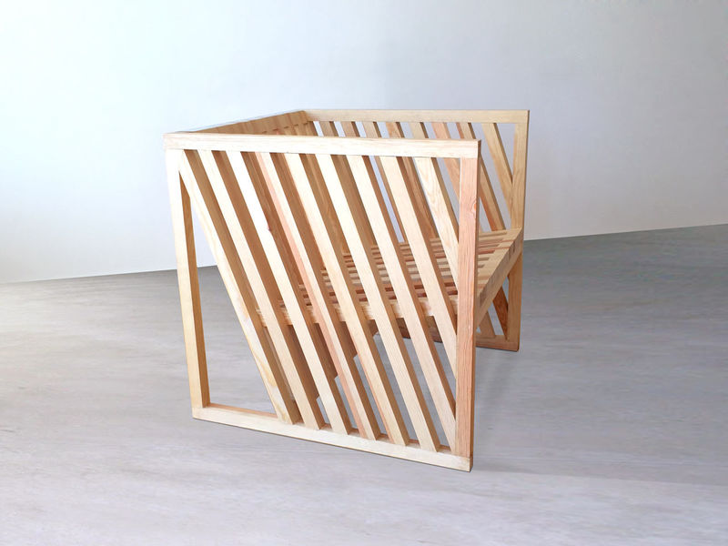 Sculptural Cubic Furniture