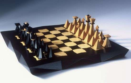 Cubist Chess Sets