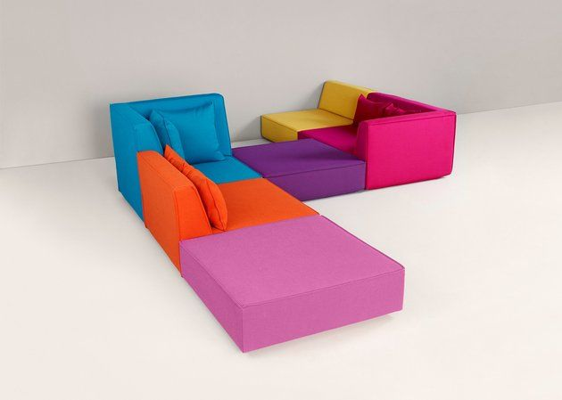 Multi-Hued Modular Couches