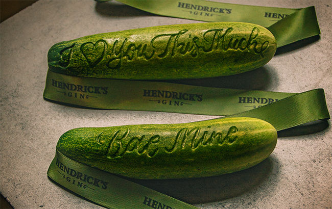 Etched Cucumber Gifts