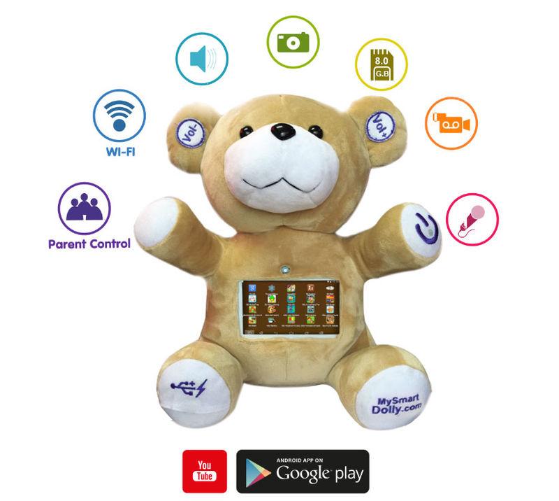 Interactive Touchscreen Plush Toys