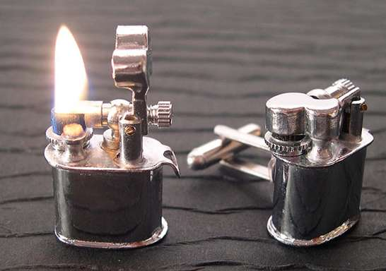 Cufflink Lighters