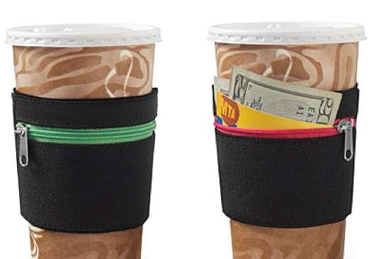 Zip-Up Cup Pockets