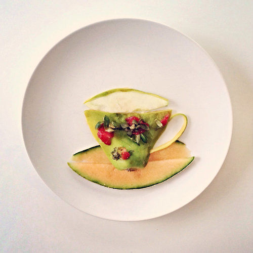 Culinarily Plated Illustrations