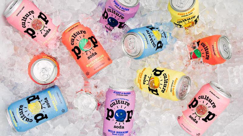 Health-Conscious Probiotic Sodas