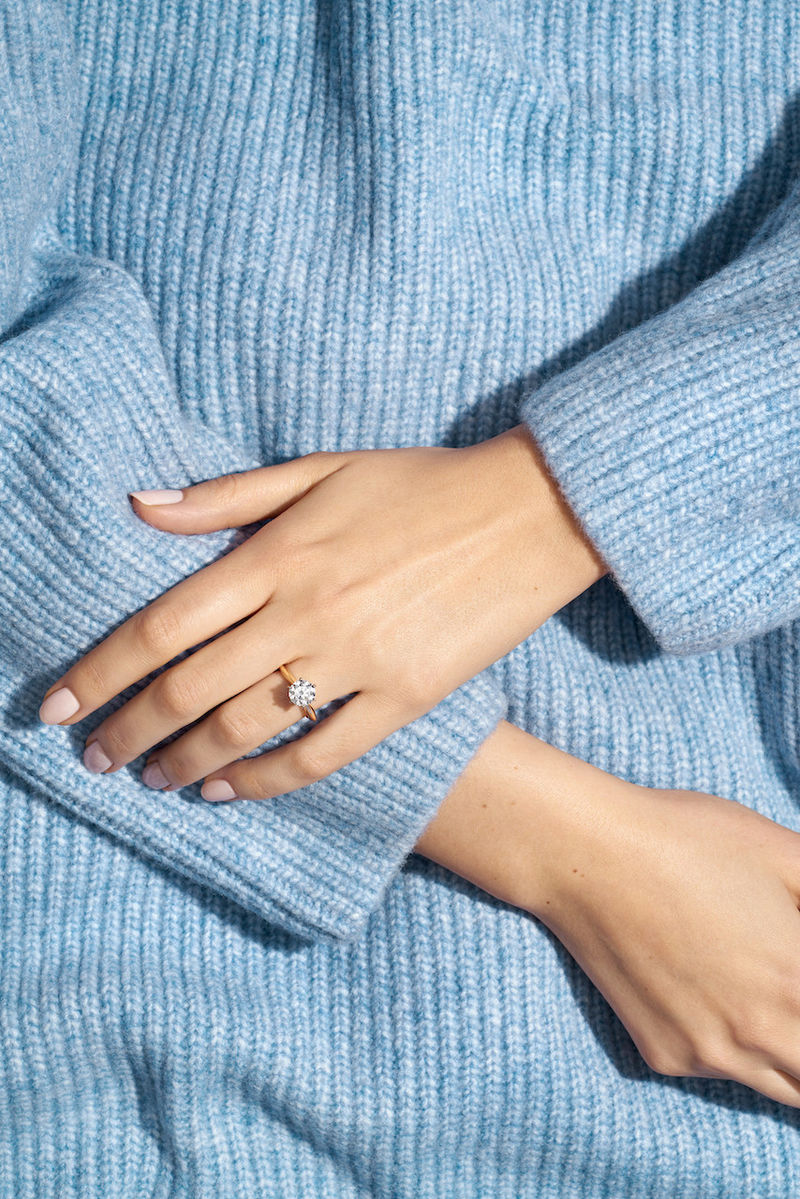 Cultured Engagement Rings