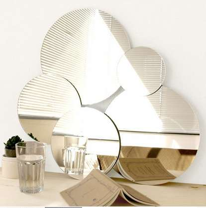 Cute Cloud-Inspired Mirrors
