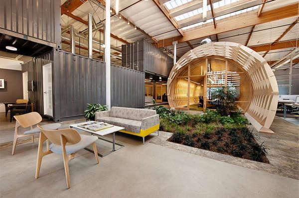 Indoor Garden Workspaces