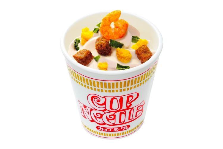 Cup Noodle Ice Creams