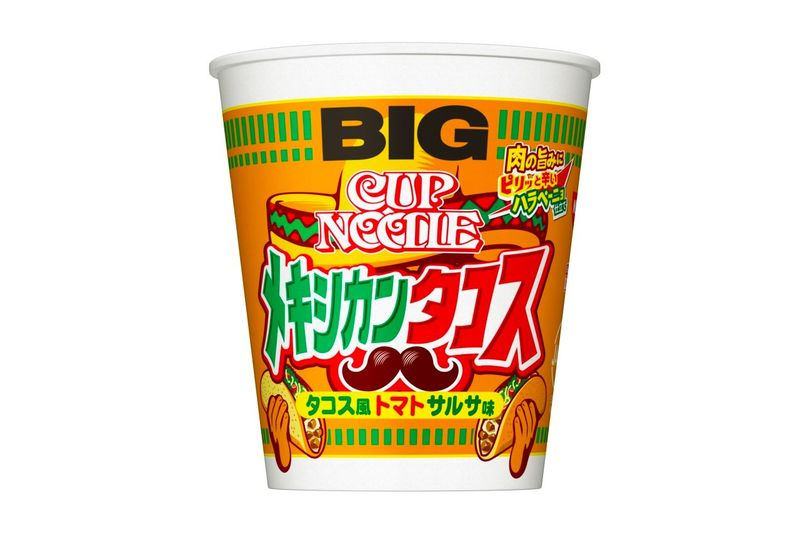 Mexican Taco-Flavored Instant Noodles