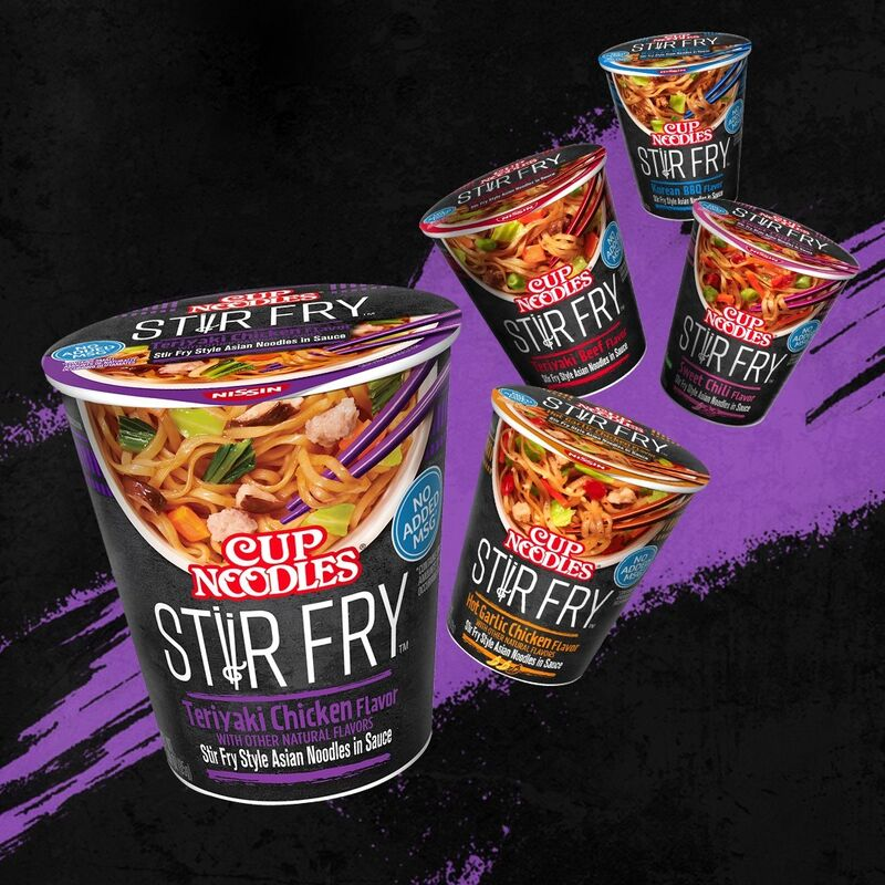 Asian-Inspired Stir-Fry Cups