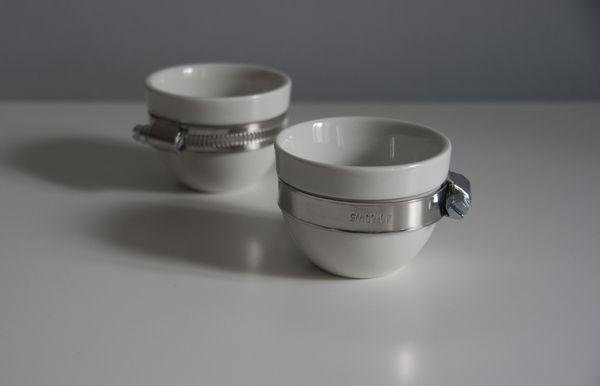 Handsome Hardware Teacups