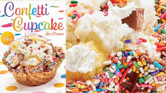 Celebratory Cake Ice Creams