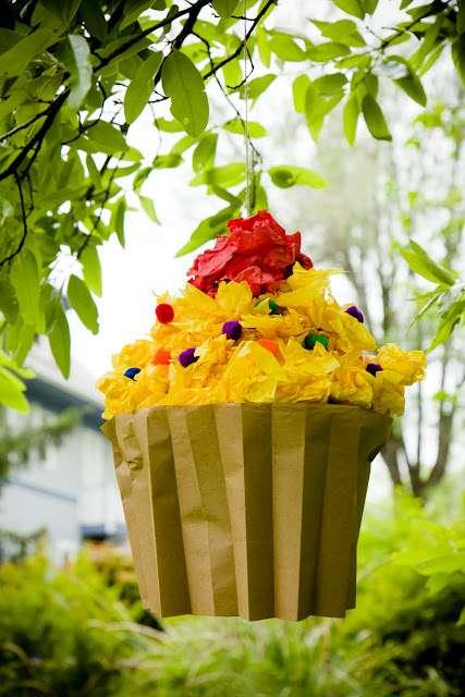Cupcake Pinatas