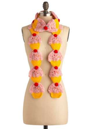 Sweet Tooth Scarves
