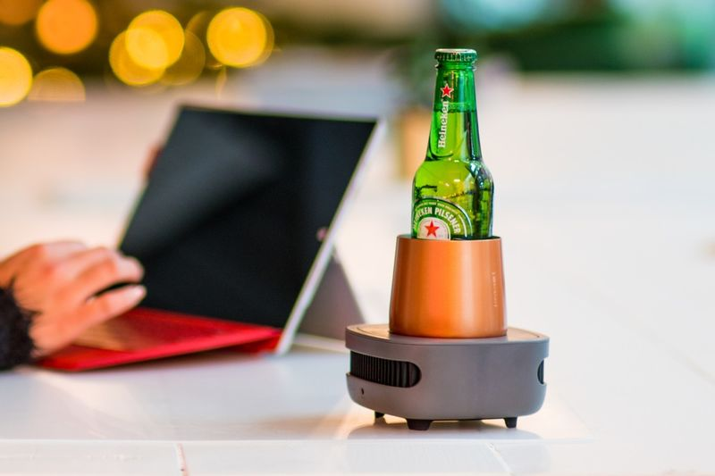 Drink-Cooling Desktop Devices