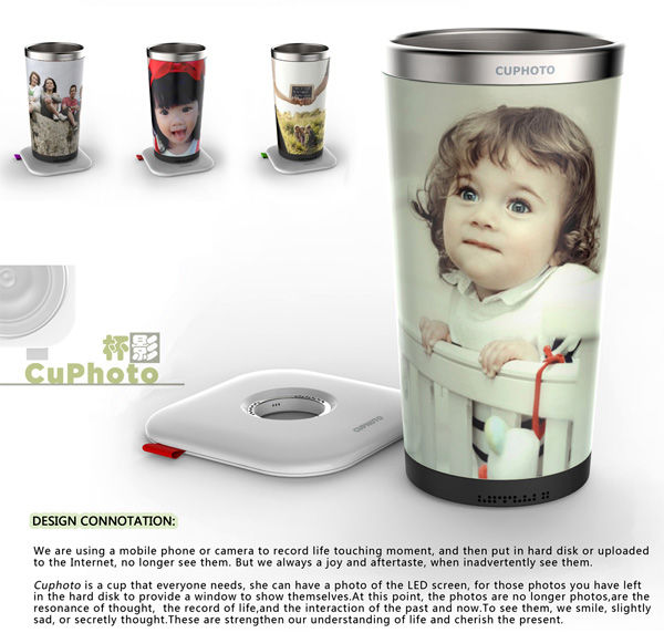 Digital Photo Cups