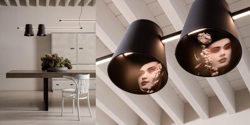 Picture-Printed Lampshade Illuminators