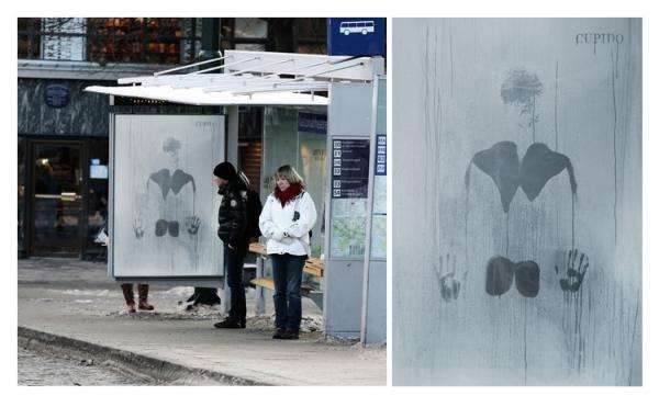 Hot Bus Stop Campaigns