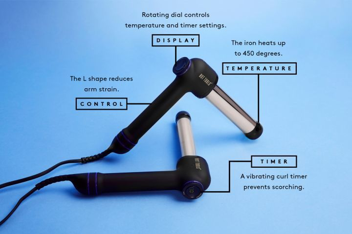 L-Shaped Curling Irons