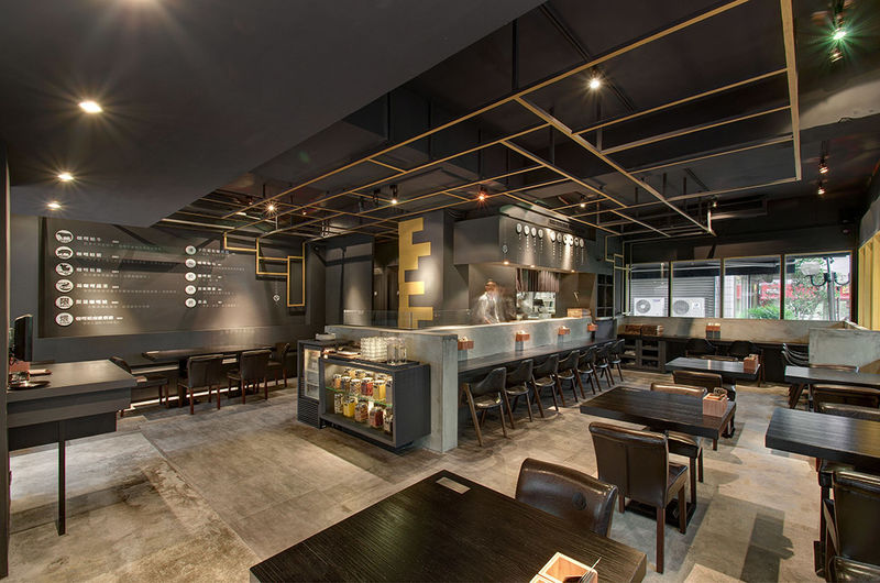 Asian Diner Restaurant Designs Curry Cafe