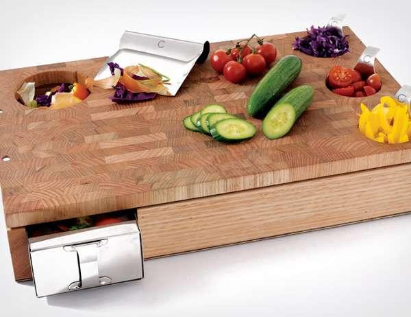 Productive Produce-Chopping Blocks