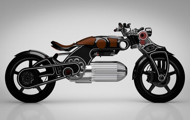 Futuristic Performance Electric Motorcycles