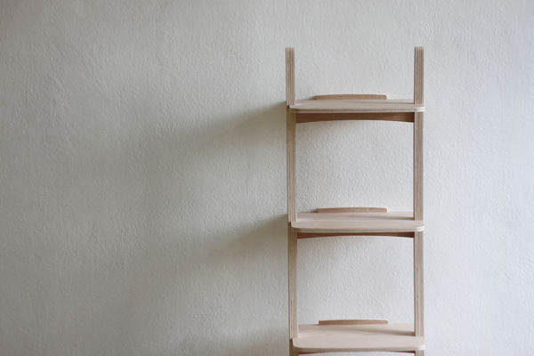 Outward-Arching Shelving