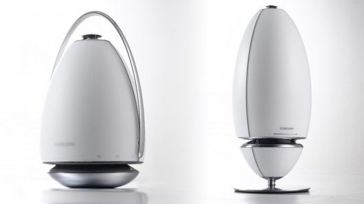 Curvaceous Audio Speakers