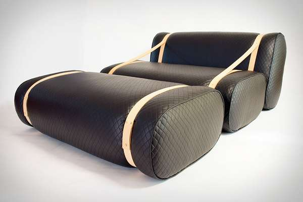 Strapped Leather Seating