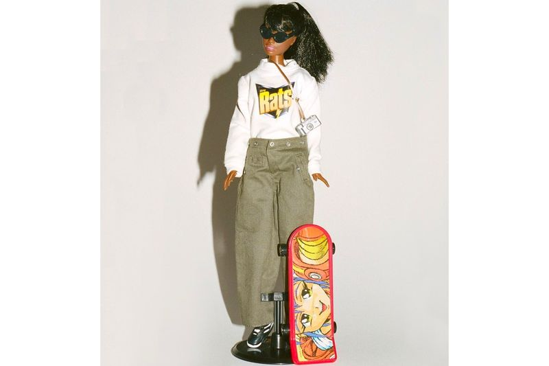 Streetwear-Inspired Barbie Dolls