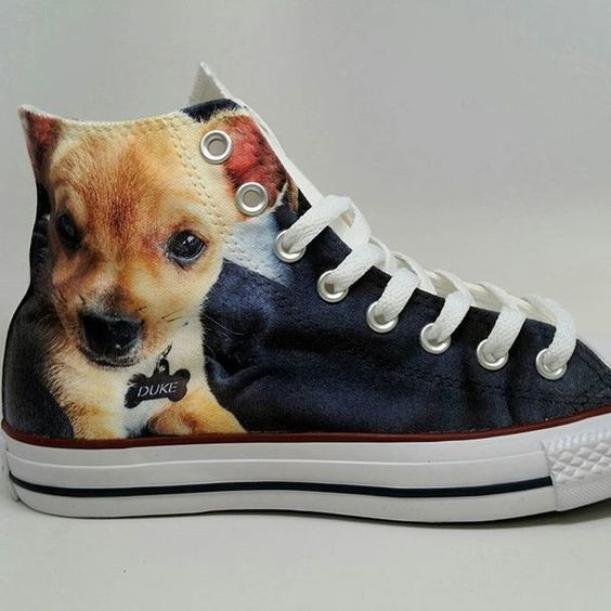 Customized Pet Portrait Sneakers