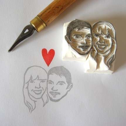 Personalized Romance Stamps