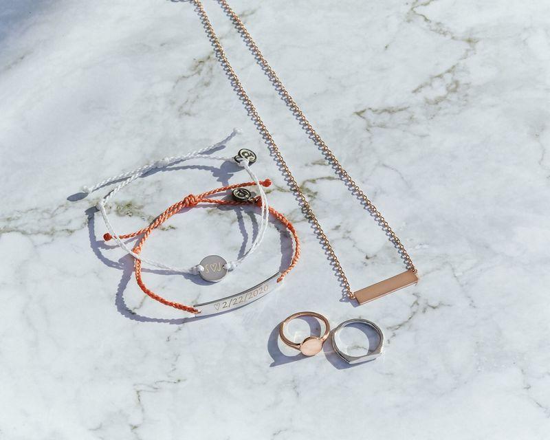 Elegant Custom Engraved Jewelry