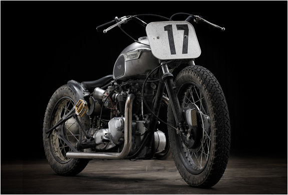 Sleek Utilitarian Custom Motorbikes