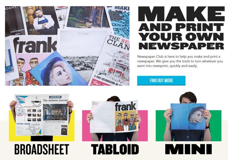 newspaper and print media