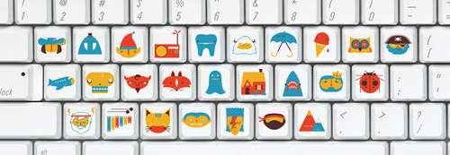 Custom Picture Keyboards