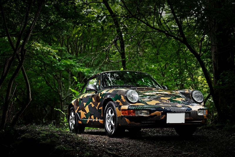 Customized Camoflage Sports Cars
