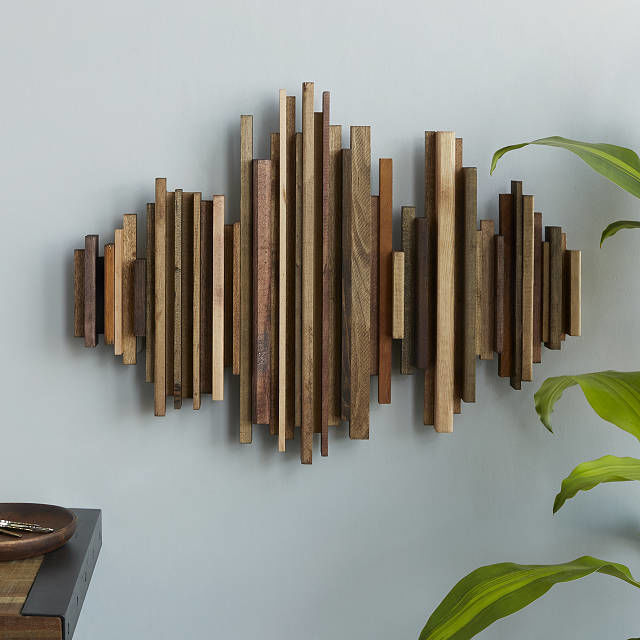 Sound Wave-Shaped Wall Décor