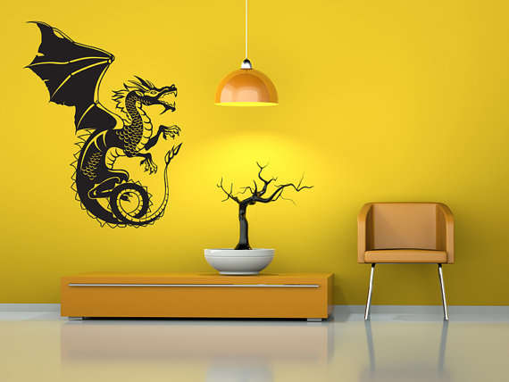 Custom Vinyl Wall Decals Dragon Custom Vinyl Decals - Custom vinyl wall decals dragon